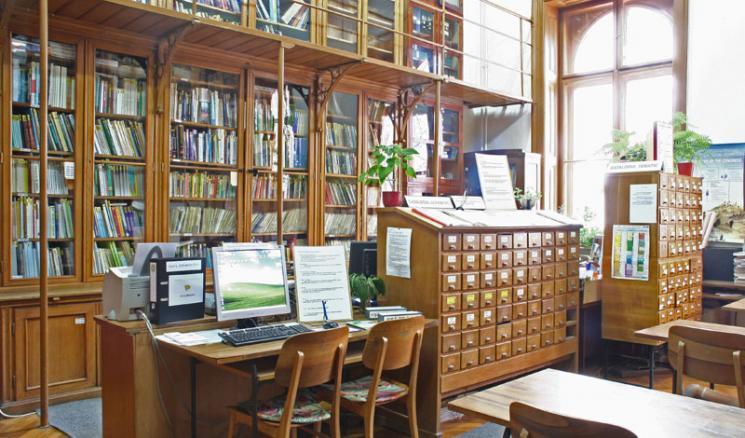 Biblioteca de Geologie