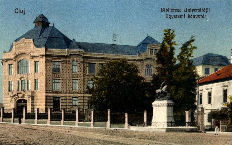 Biblioteca universităţii, 1925
