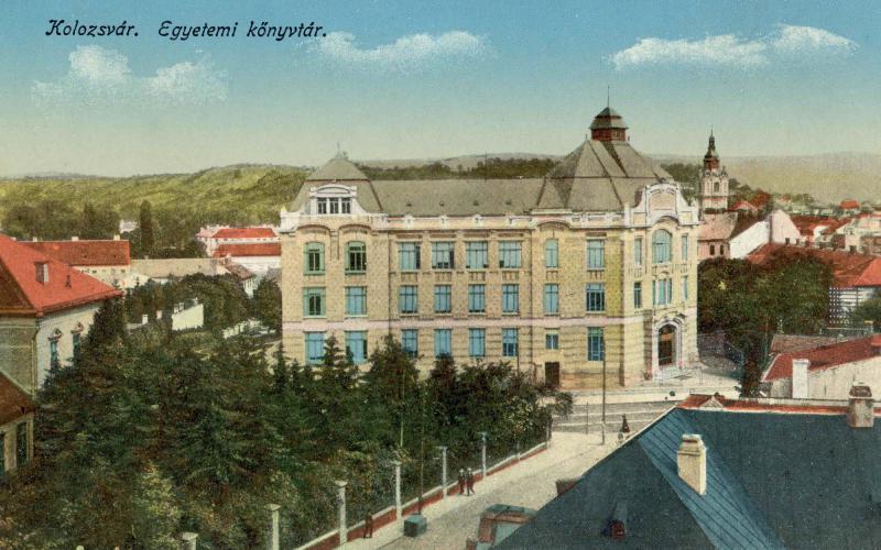 Biblioteca universităţii, [191-?]