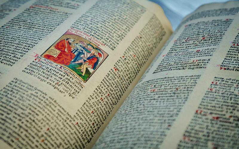 Corpus iuris civilis. Codex iustinianus. [Ed.] Andreas Rummel. Nurembergae, Andreas Frisner et Joannis Sensenschmid,  1475