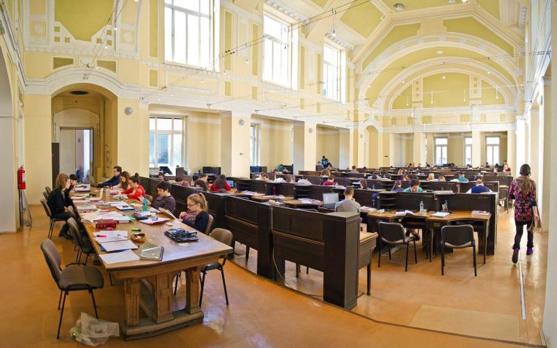 Sala de lectură I