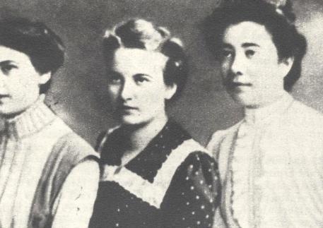 Primele studente clujene - 1906